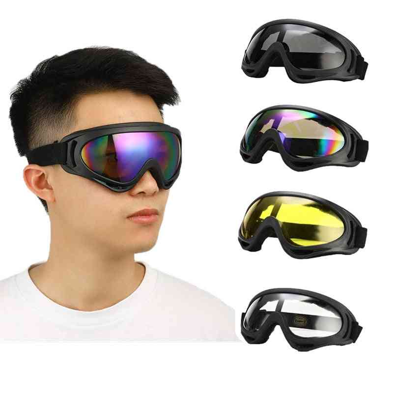 Anti-uv, Windproof Protective Glasses For Cycling/riding/construction Etc.