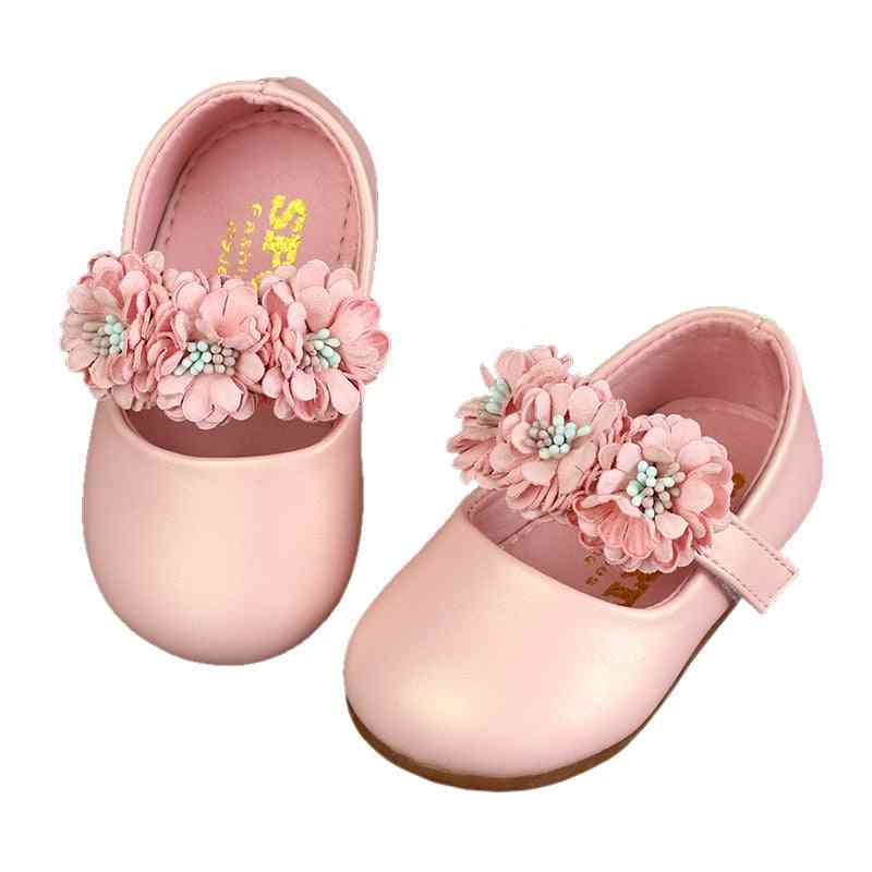 Spring / Autumn 0-6-12 Months, Baby Princess Leather Shoes