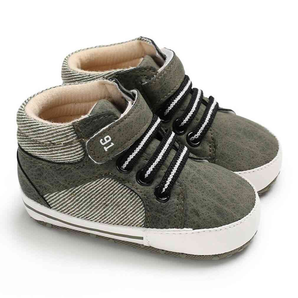 Cute Kids Sneakers Baby Boy / Girl Soft Sole Crib Shoes