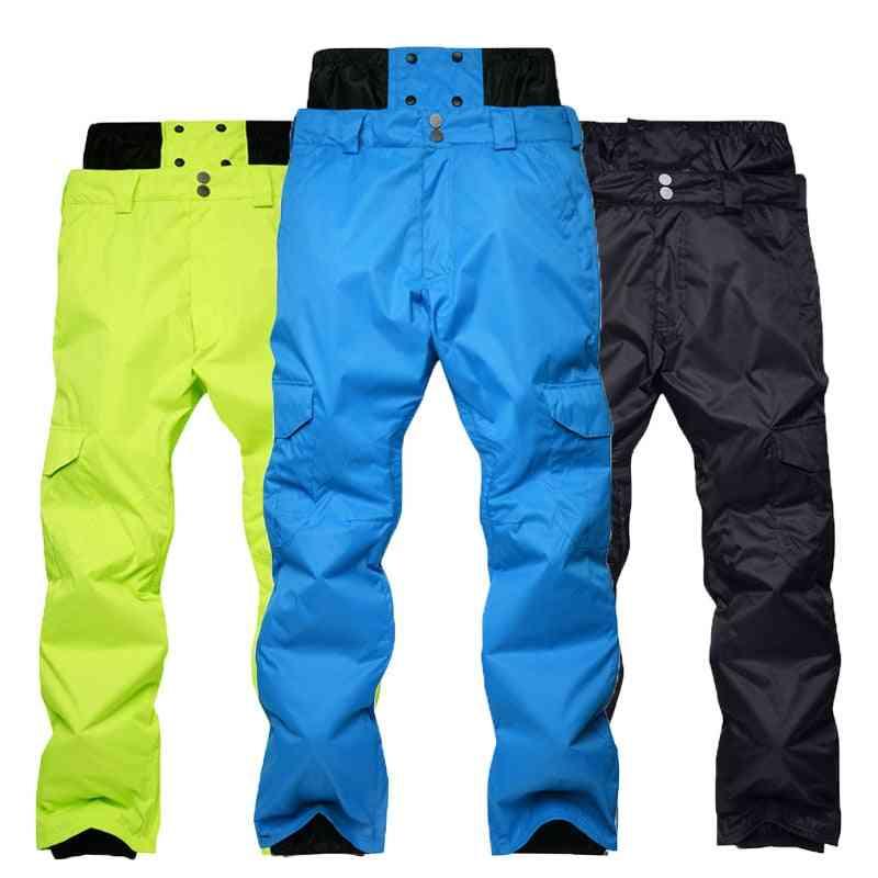 Winter Waterproof Men's Outdoor Sports Snowboard Pants, Warm And Windproof