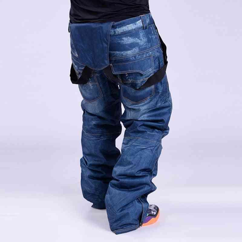 Men Snowboard Windproof Pants