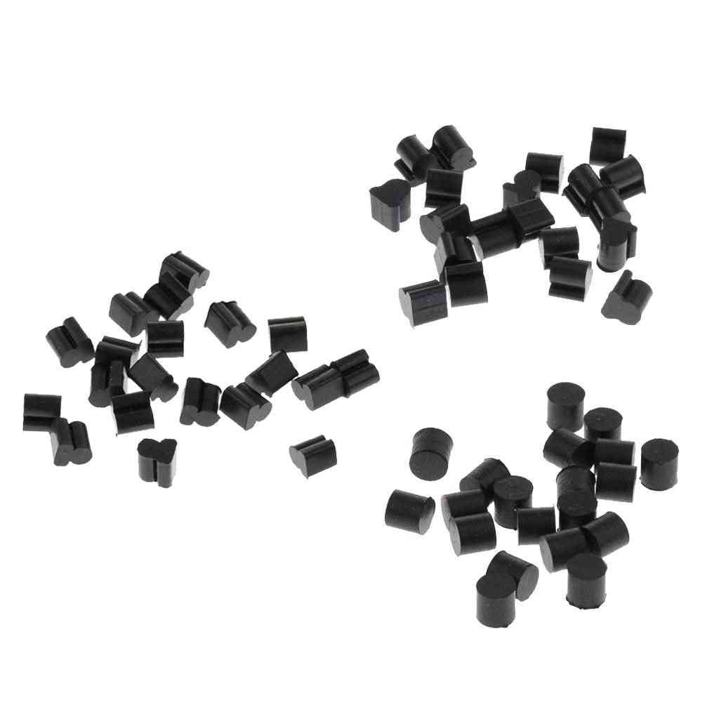 Alto Horn Silicone Pads, Cushion Pad, Black Brass, Instrument Parts For Hornist