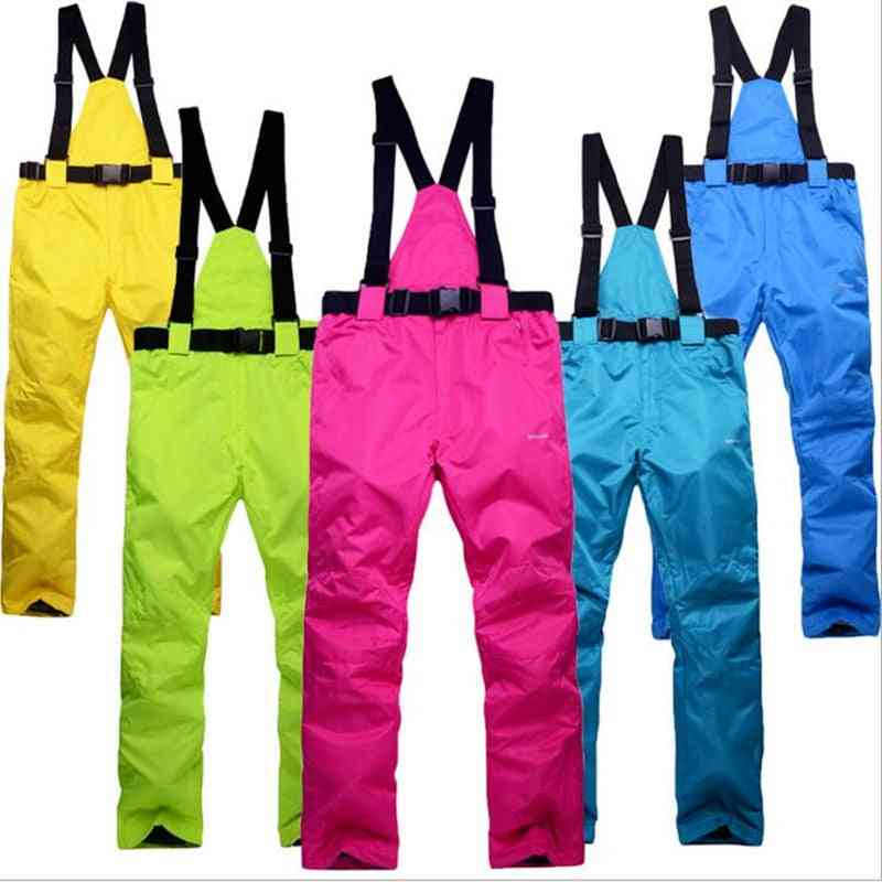 Warm Snow Ski -sports Belt Pant Trousers -waterproof &windproof Suit