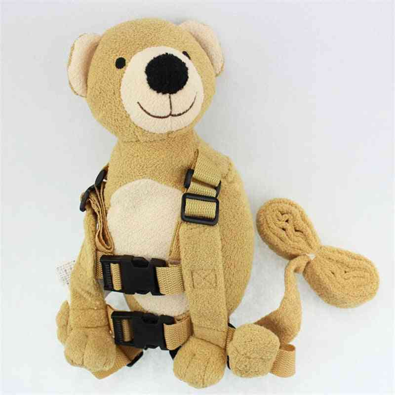Cute 2 In 1 Buddy Baby Safety Harnesses Animal Toy