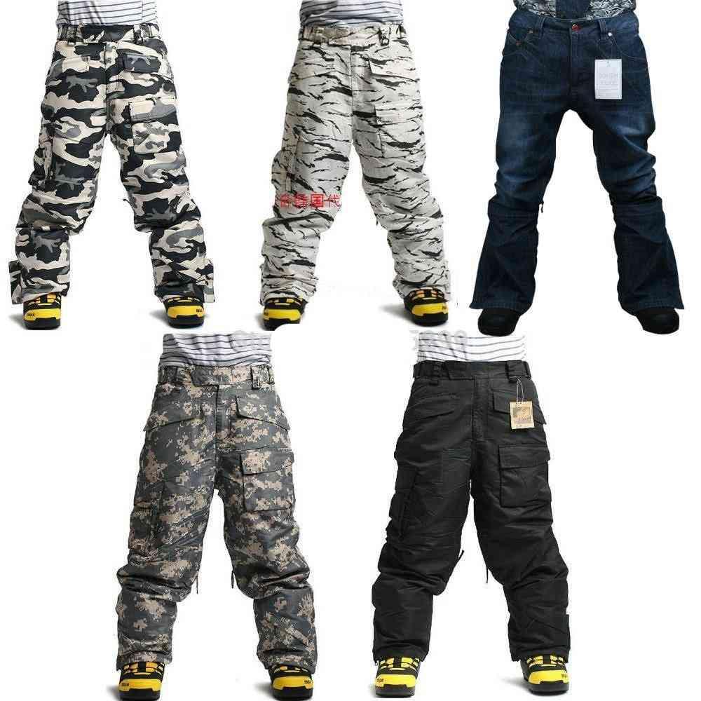 Winter Waterproof Skiing Army Total Pants