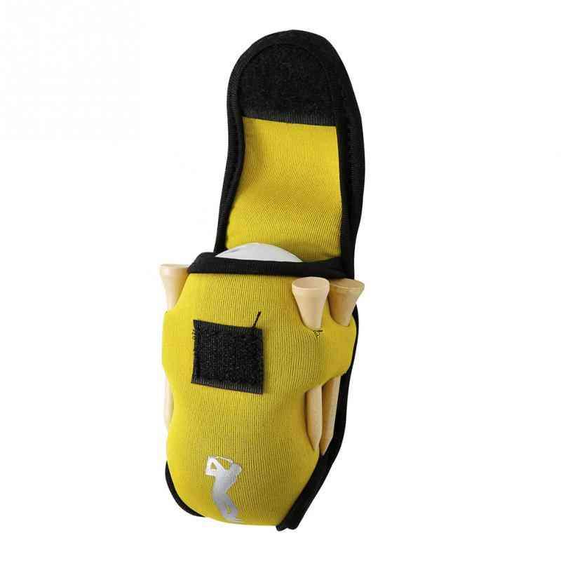 Mini Golf Bag- 4 Tees And 2 Balls Holder Neoprene