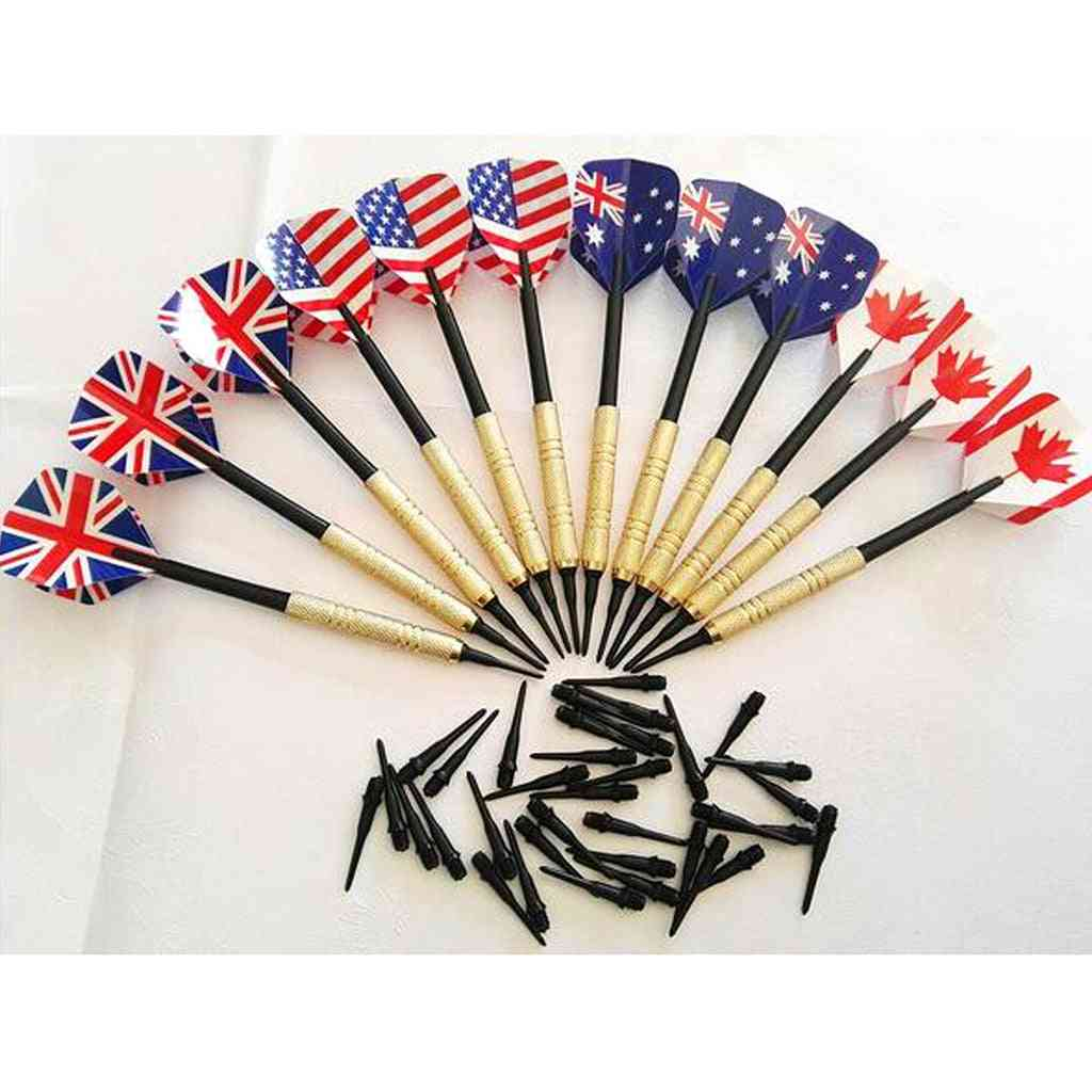 Professional Soft Tip Darts Set With Extra Plastic Tips For Electronic Dartboard Accessories