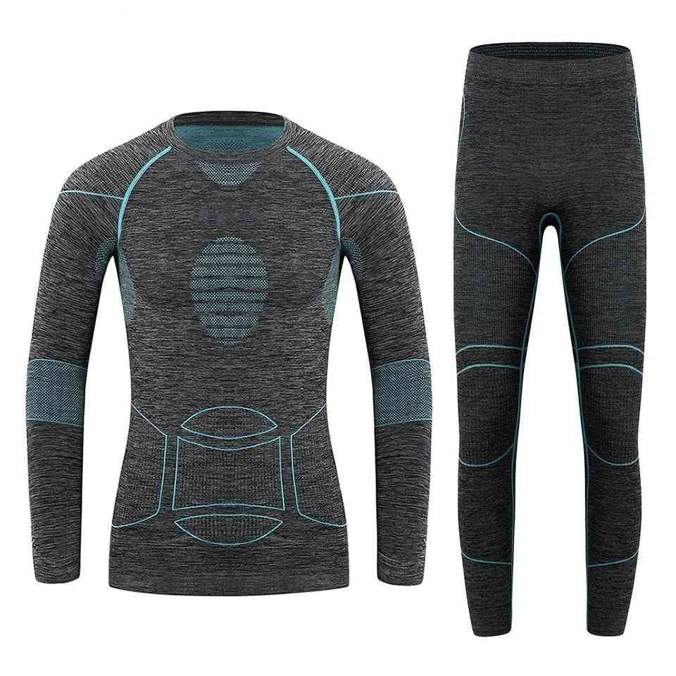 Thermal Underwear Sports Set, Outdoor Performance Sports Sets Long Shirts And Hose