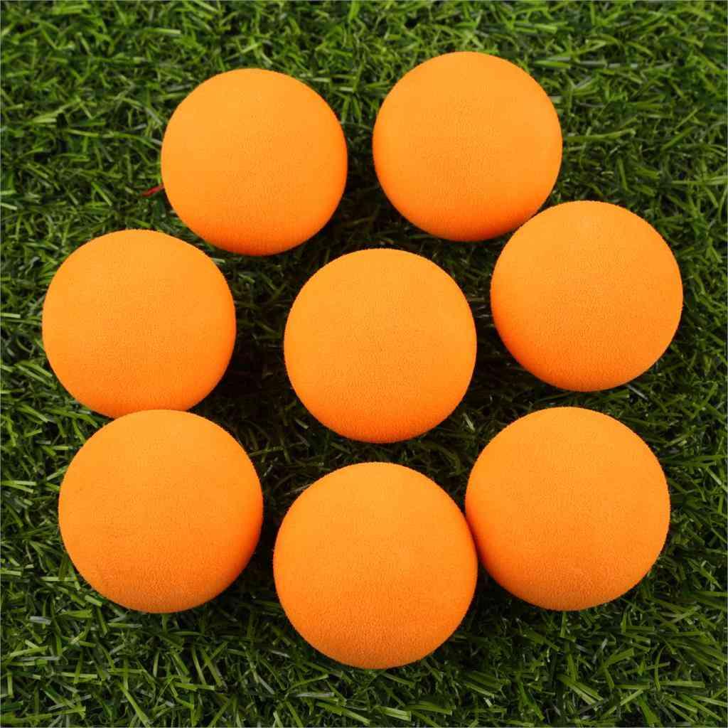 Eva Foam Golf Balls- Soft Sponge For Outdoor Golf Swing Practice Balls