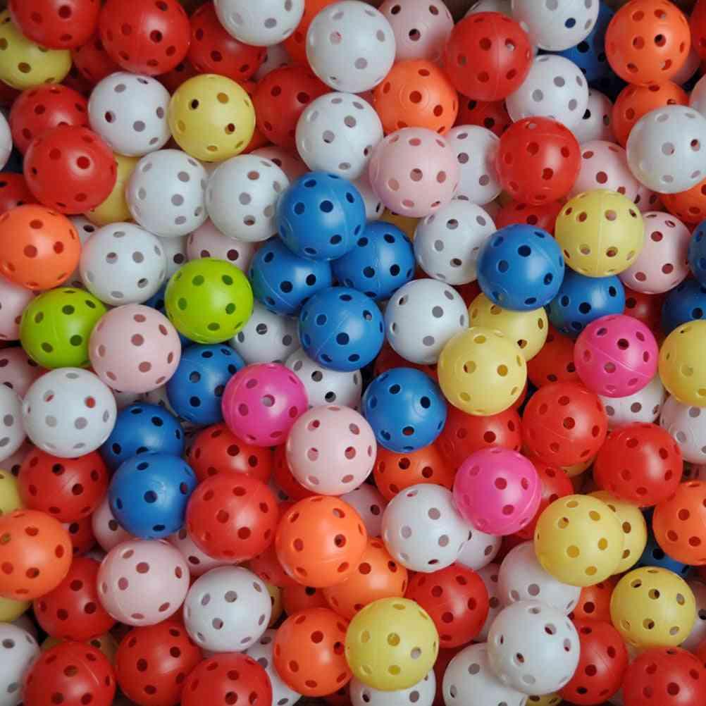Random Colors Plastic Golf Balls