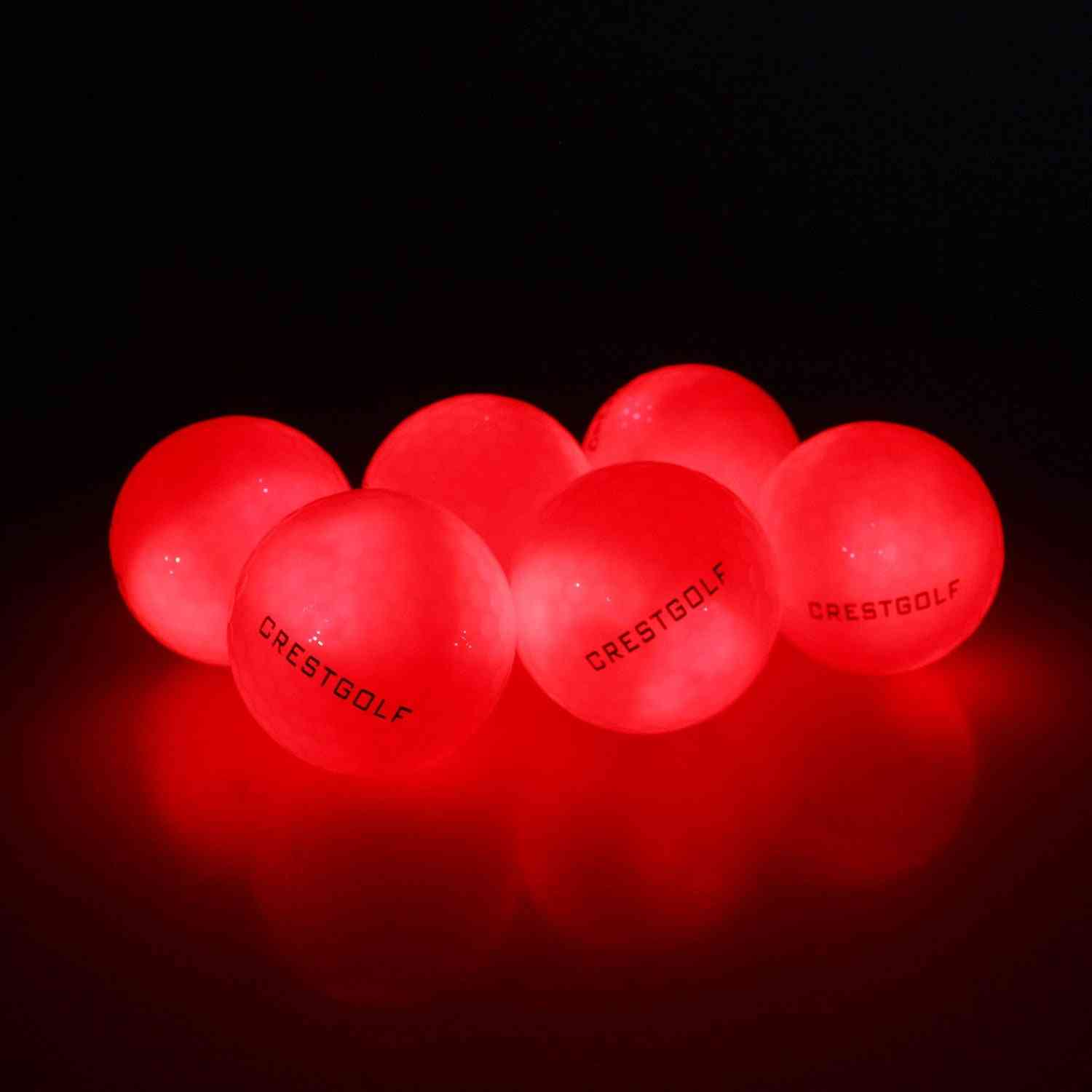 Night Training High Hardness Material For Golf Practice Balls
