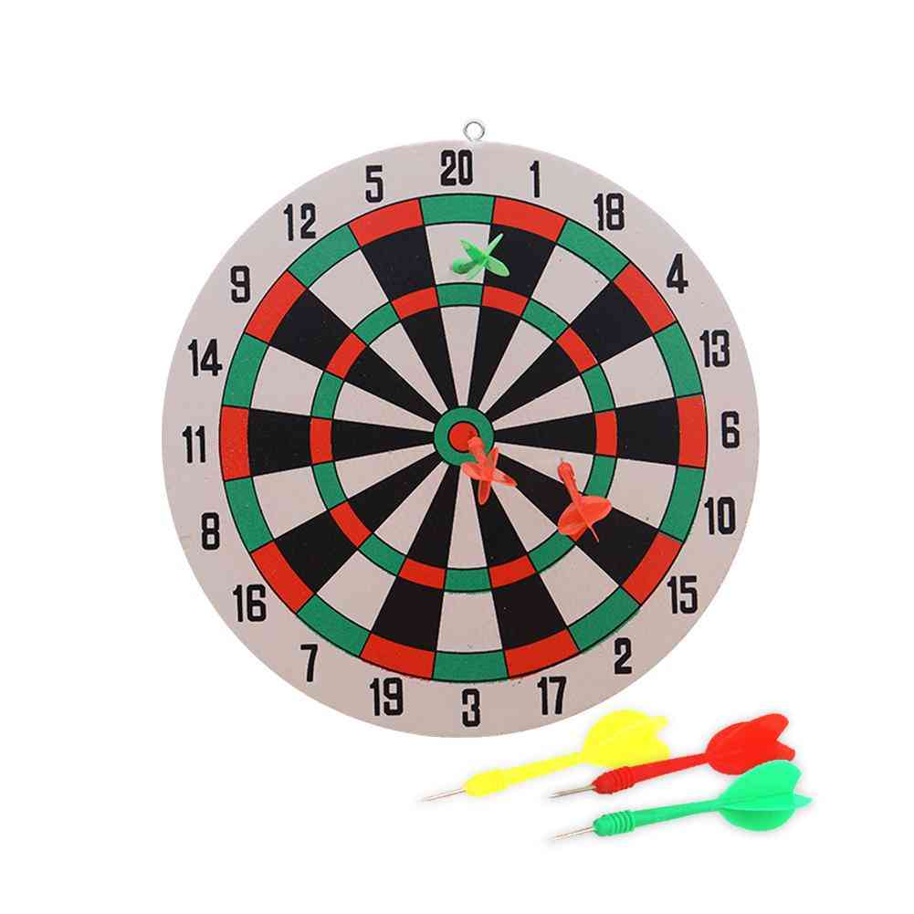 Dart Board Game Set - Household Wall-hanging, Dual-sides Thickened, Indoor/outdoor Game