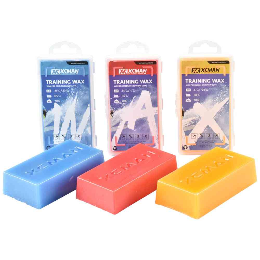 Racing Ski Snowboard Wax For Use In Any Kind Of Snow All Temperature Wax Ki