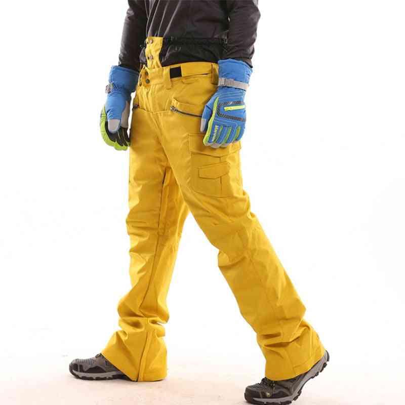 Men Women Waterproof Windproof Breathable Thermal Winter Mountain Sports Snow Trousers Pants