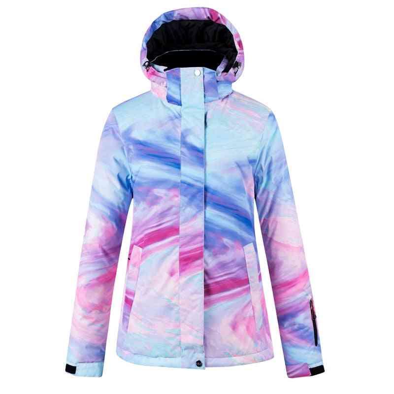 Men Women Snowboard Winter Warm Sports Ski Jacket Breathable Waterproof Windproof Snow Wear