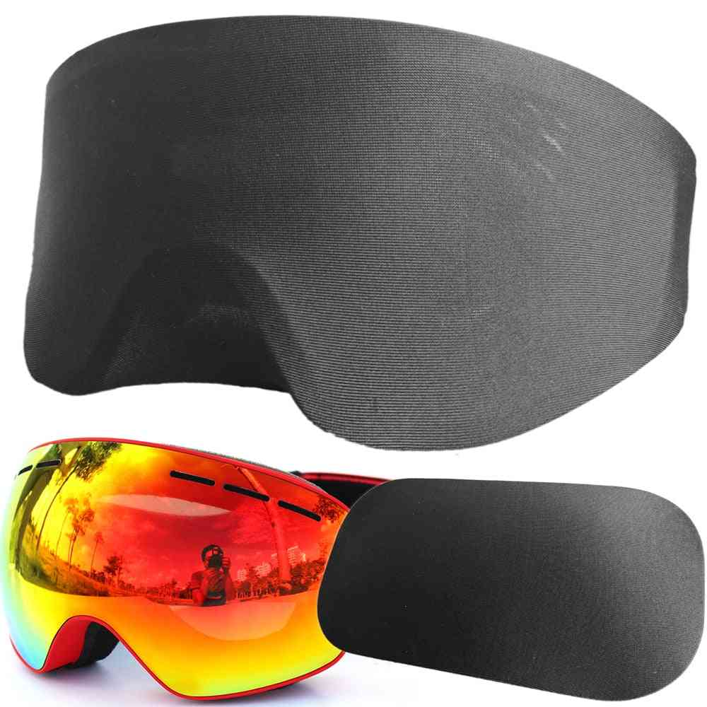 Portable Free Size Elastic Goggles Protector Cover - Anti-scratch Dust-proof Sleeve Guard Mask