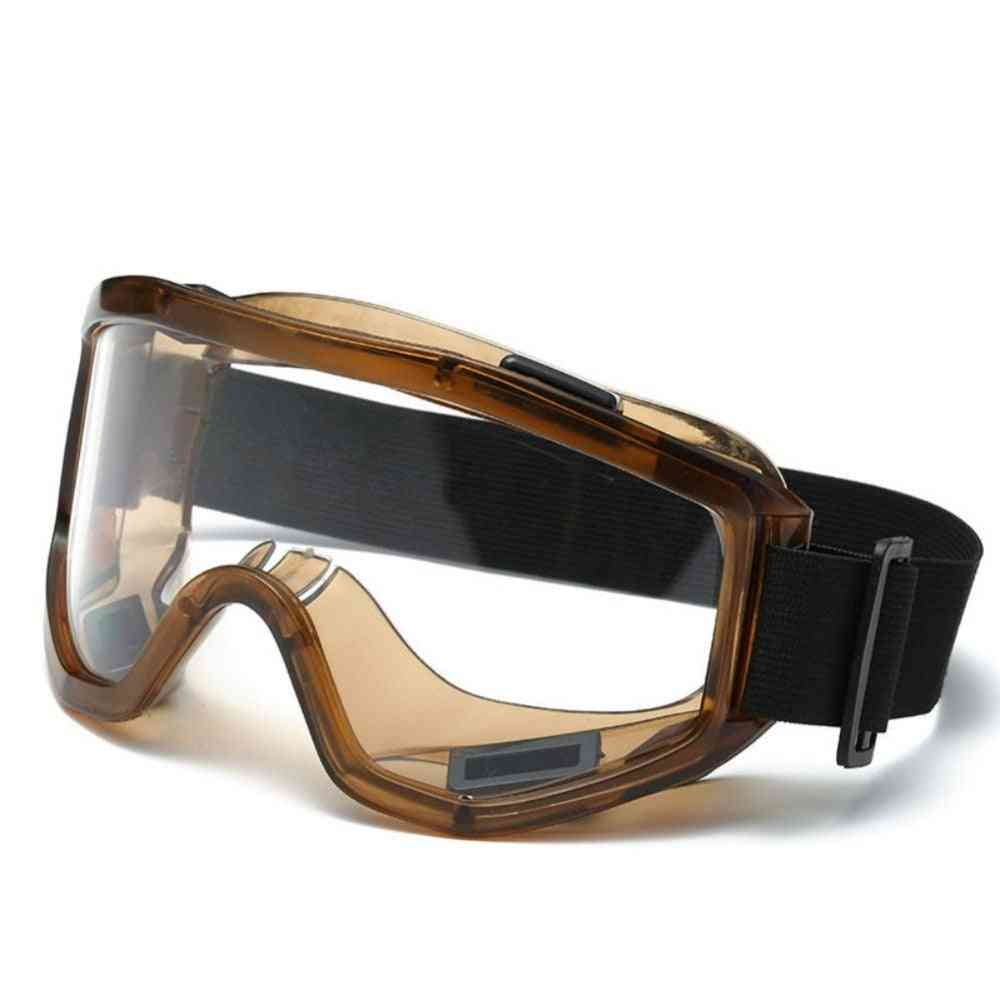 Winter, Windproof, Anti-fog With Adjustable Elastic Goggles For Outdoor Climbing