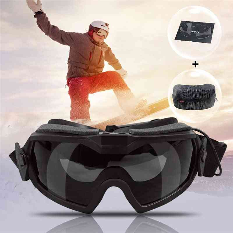 Anti-dust, Eye Protection Enhance Goggles, Equipped With Miniature Fan Device