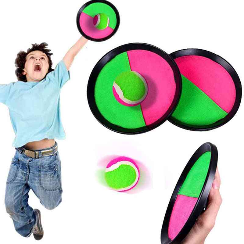 Sucker Sticky Ball Toy-outdoor Throw And Catch Game