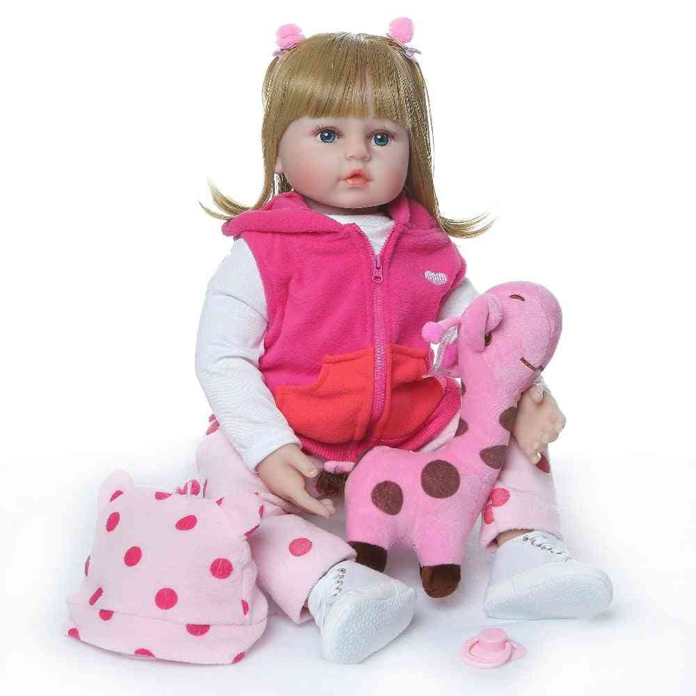 Silicone Hair Style Reborn Baby Doll Toy