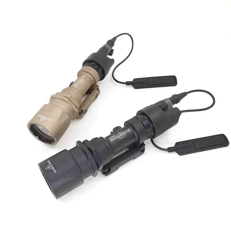 Tactical Flashlight Weapon Light Constant & Momentary, Cree Led Super Bright, Hunting Rifle