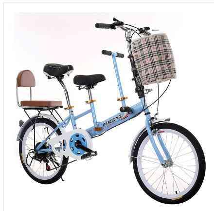 Touring Wagon Travel Bike, Parent-child Bicycle With Travel Bike