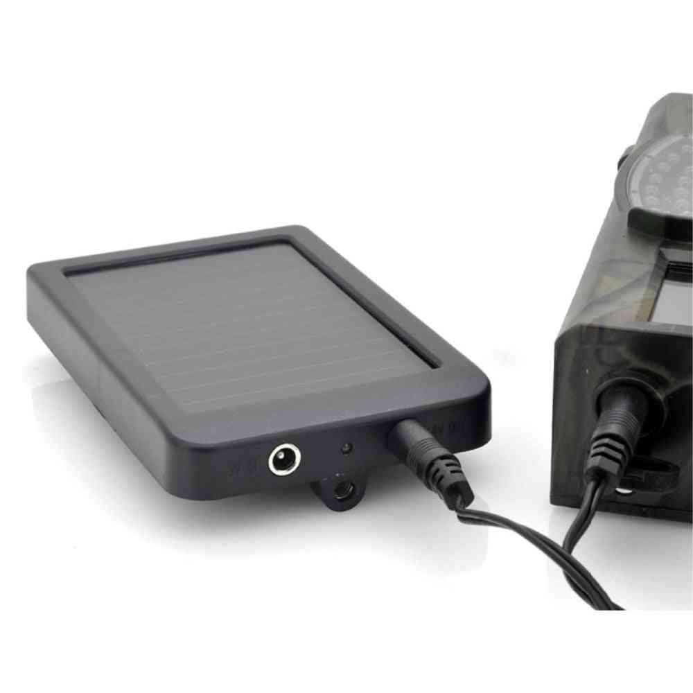 Photo-traps Hunting Game, Camera Battery Solar Panel Charger, External Power For Wild Trail