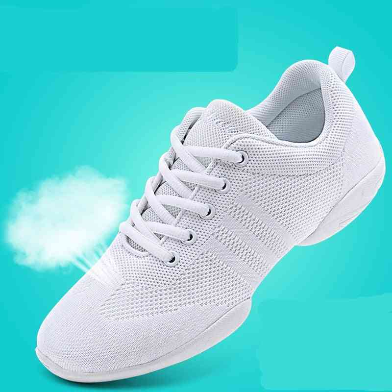 Professional Aerobics Shoes With Soft Bottom-cheerleader's Sneakers