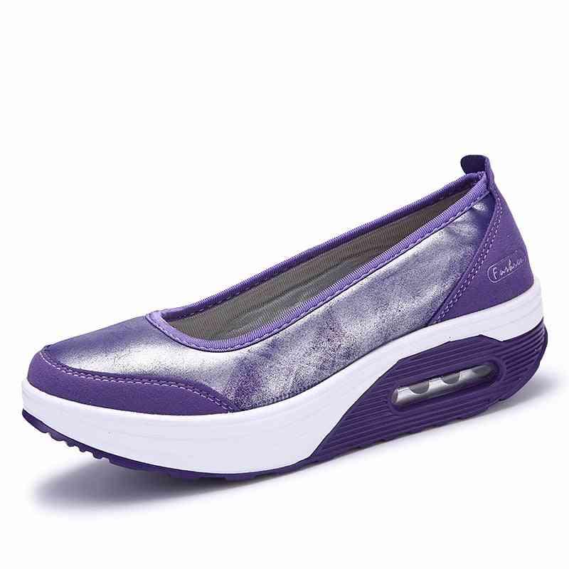 Air Cushion Wedge Platform Shoes