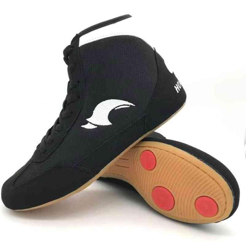 Women / Men Wrestling Shoes- Gear Combat Sneakers