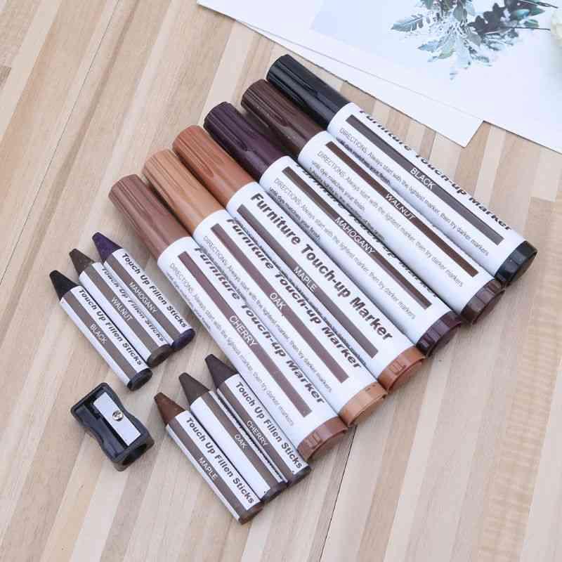 Wood Repair Kit-filler Sticks, Touch Up Marker
