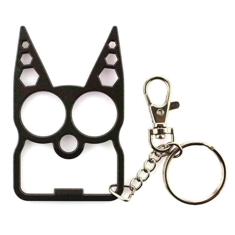 Portable Cute Cat Opener Screwdriver Keychain