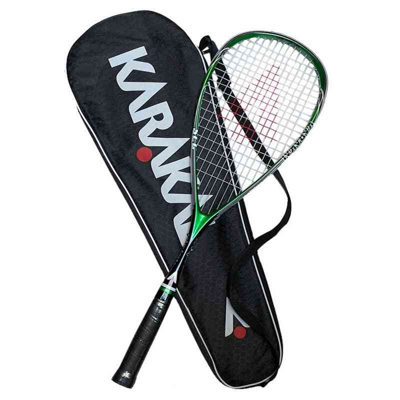Squash Racket With Bag