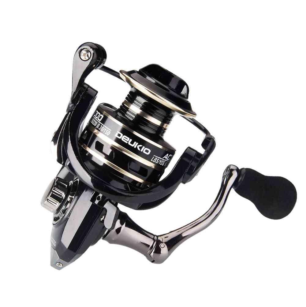 Fishing Spinning Reel, No Gap Metal Spool Gear Ratio