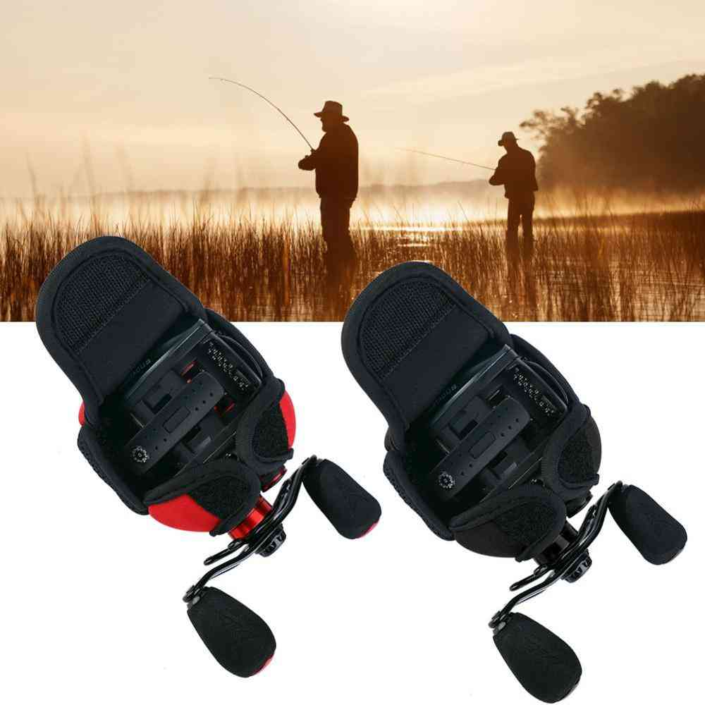 Waterproof Breathable Fishing Reel Bag, Protective Case, Cover Bait Casting Pouch