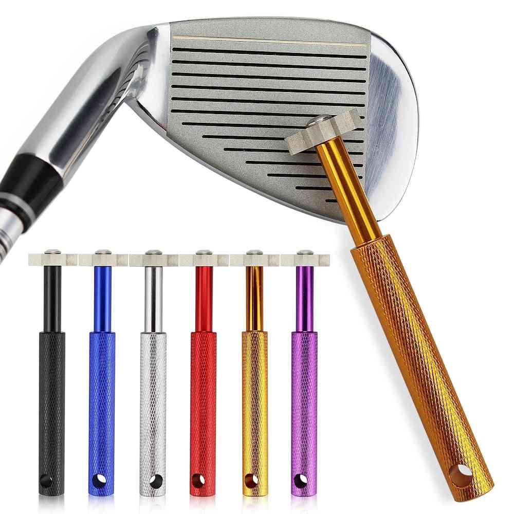 Golf Sharpener, Golf Club Grooving Sharpening, Head Strong Alloy Wedge, Sharpening Tool