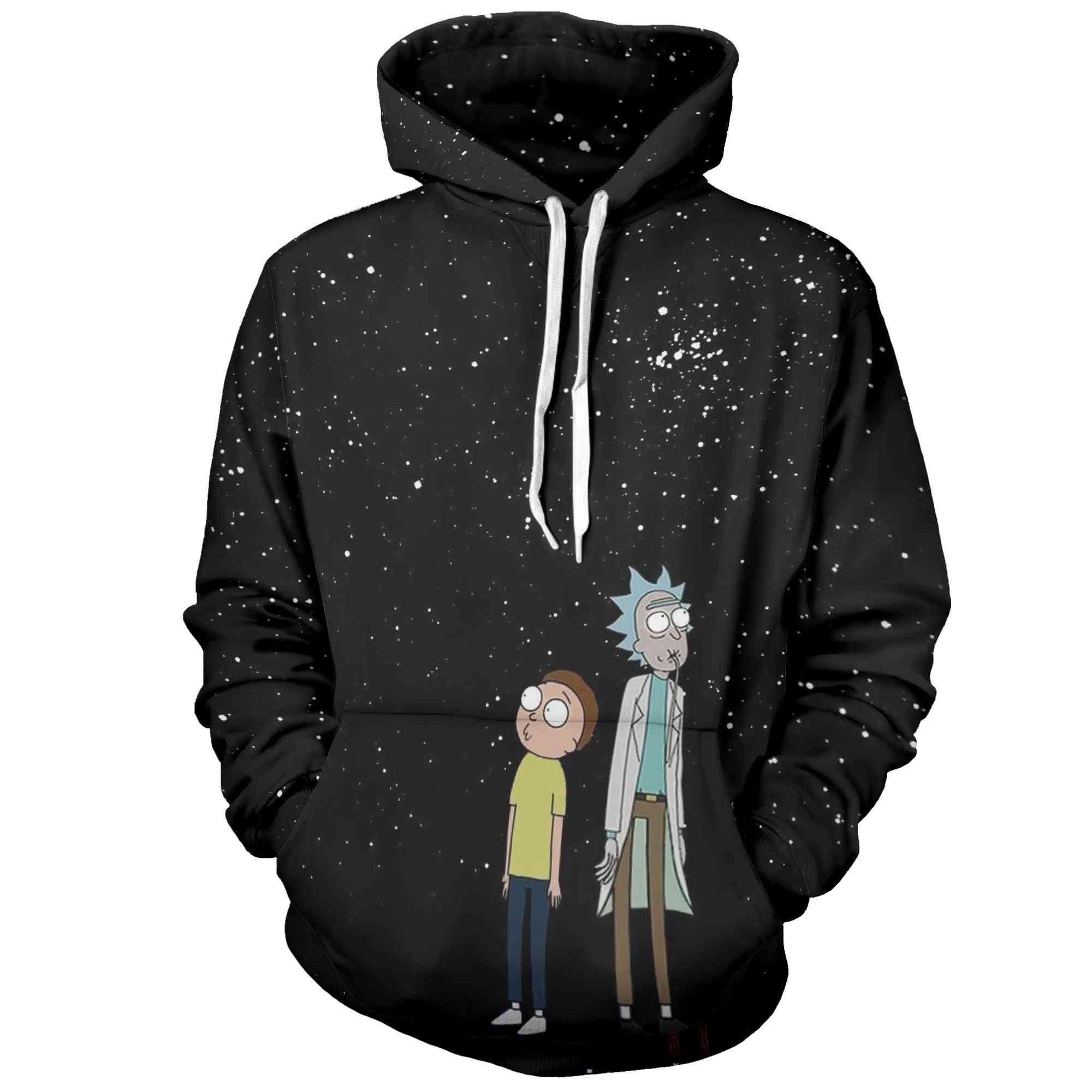 3d Hoodies- Creative Harajuku Galaxy Printing Casual Hoodie Sweatshirt