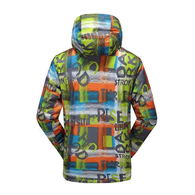 Winter Thicken, Warm And Waterproof Ski Jacket