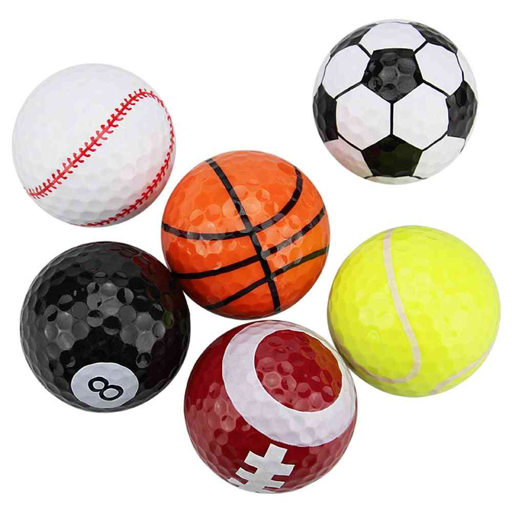 Golf Practice Multicolors Golf Balls