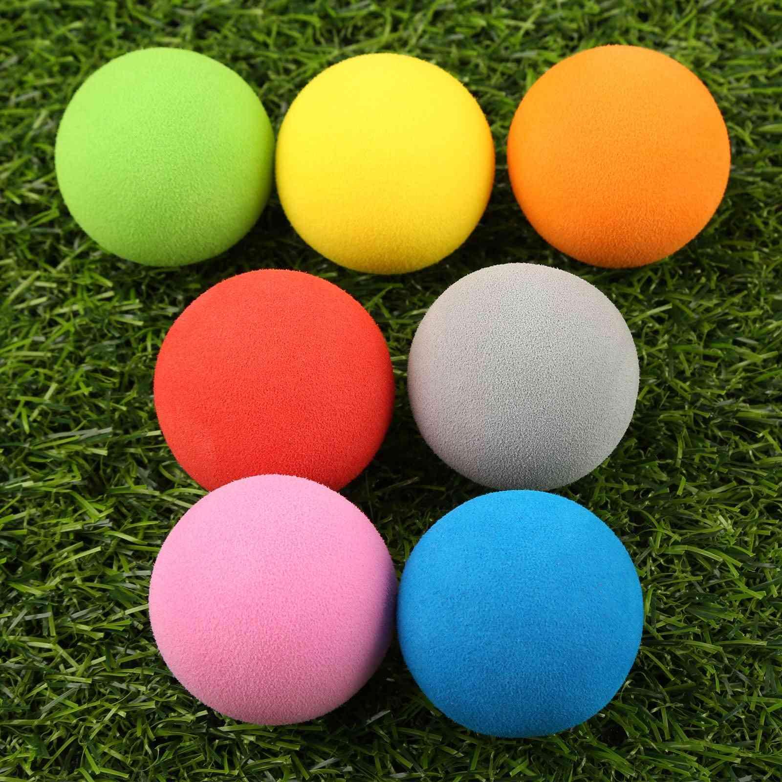 Golf Eva Foam, Soft Sponge Balls For Golf/tennis Training, Outdoor, Golf Practice Balls