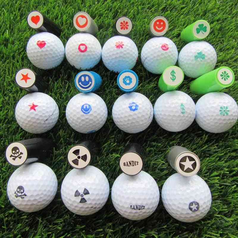 Quick-dry Golf Ball Stamper, Stamp Marker, Impression Seal For Golf Club Accessories
