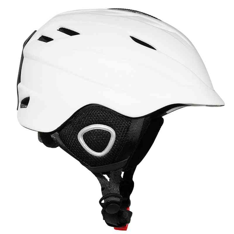 Half-covered Style, Safety Integrated Ski Helmet/women