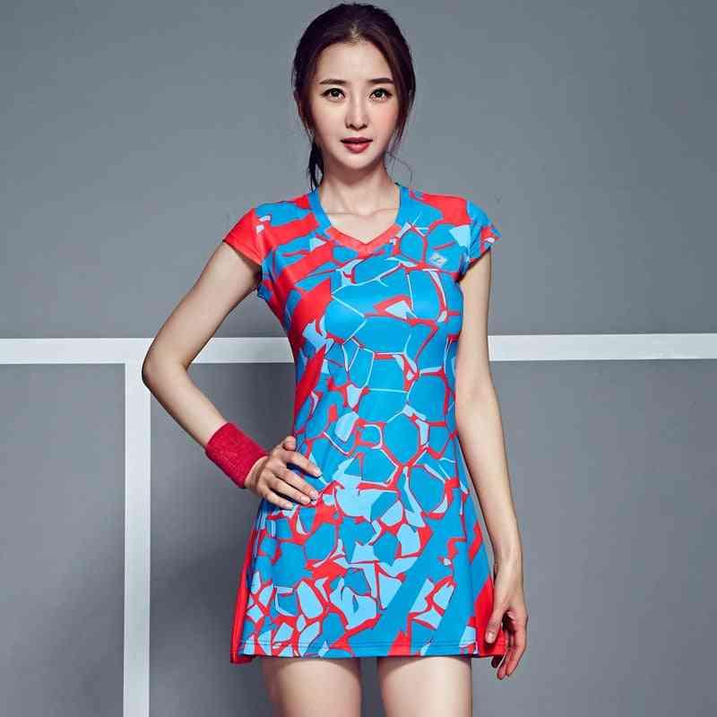 Women's Mini Dress With Shorts For Badminton/tennis