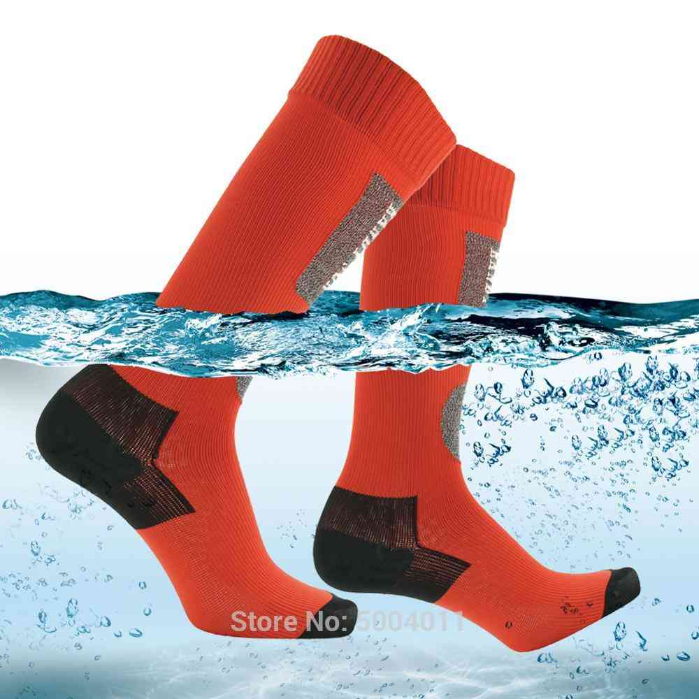 Waterproof Knee High Breathable Sweat Wicking Outdoor Sports Fishing Hunting Cycling Socks