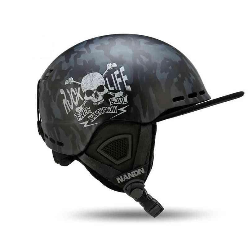 Ski Helmets  Ultralight High-quality Snowboard Helmets, Men-women Skating Helmet