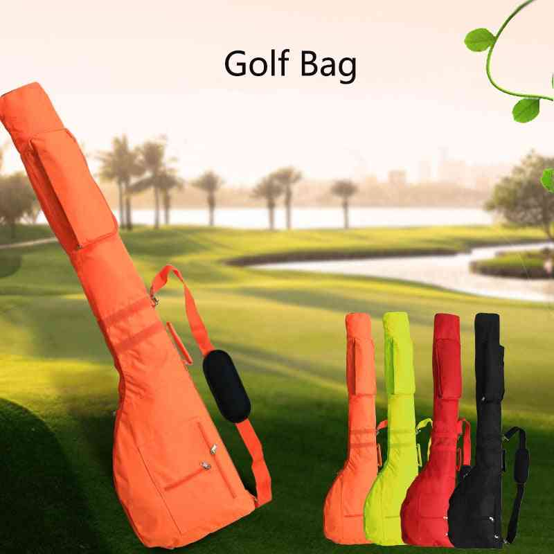 Portable Golf Club Bag Set -soft, Foldable, Golf Bag Accessories For Outdoor Practice