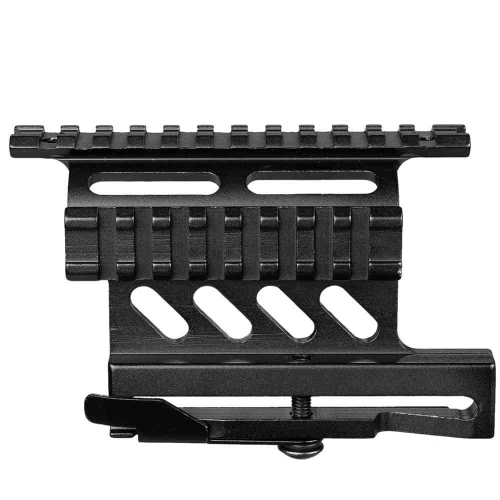 Weaver Side Mount, Quick Detach, Double Side Rifle Bracket