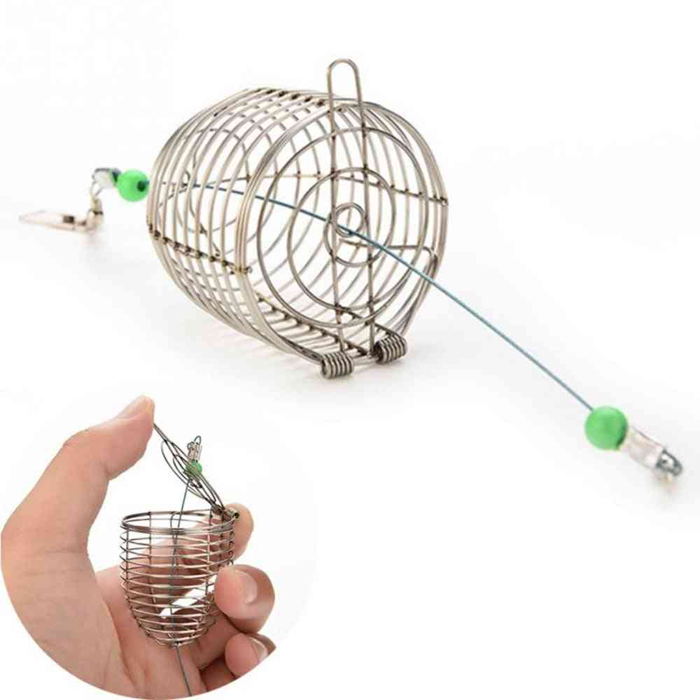Small Stainless Steel Bait Cage For Fishing