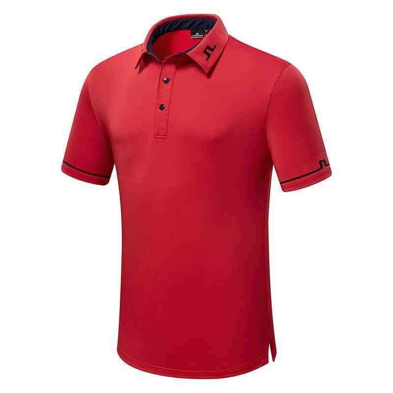 Summer Golf T-shirt, Comfortable, Quick-drying, Golf Short Sleeve's