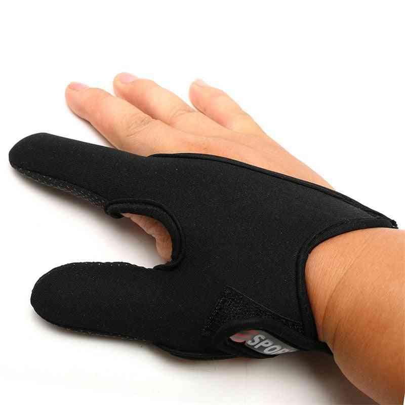 Anti-slip Thumb/index Finger Protective Fishing Glove